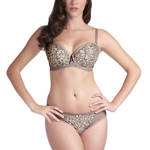 LAVINIA-TAUPE-UNDERWIRED-PADDED-HALF-CUP-BRA-0391-BRIEF-0395